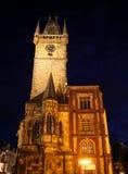 布拉格老城镇厅01 免版税库存图片