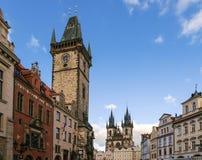 布拉格老城镇 库存照片