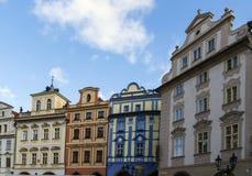 布拉格老镇中心 库存图片