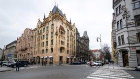 布拉格老镇区域,捷克 免版税库存照片