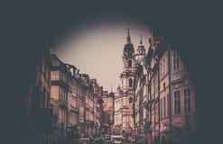 布拉格老镇 免版税库存图片
