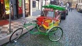 布拉格自行车 免版税库存照片