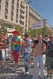 布拉格自豪感Pararde 2012年 库存图片