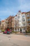 布拉格街道 库存照片
