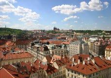 布拉格视图 库存图片