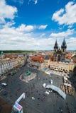 布拉格视图 免版税库存图片