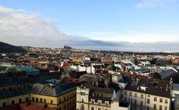 布拉格风景-布拉格城堡-都市风景 图库摄影