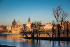 布拉格风景 免版税图库摄影