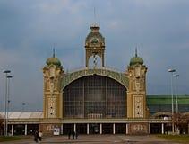 布拉格,工业宫殿 免版税库存图片