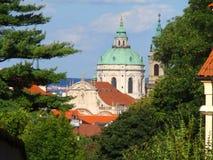 布拉格,布拉格,捷克看法  免版税图库摄影
