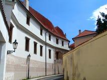 布拉格,布拉格,捷克街道  库存图片