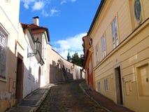 布拉格,布拉格,捷克街道  库存照片