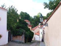 布拉格,布拉格,捷克街道  免版税库存照片