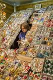 """布拉格,捷克†""""2011年12月12日布拉格圣诞节市场 库存图片"""