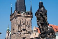 布拉格,捷克。 图库摄影