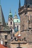 布拉格,捷克。 免版税库存图片