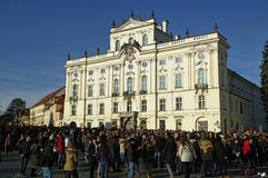 布拉格,捷克共和国 图库摄影