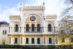 布拉格,捷克西班牙犹太教堂 免版税库存照片
