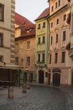 布拉格,捷克:2017年8月23日-绕街道 免版税库存图片