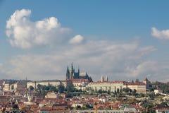 布拉格,捷克- 2016年10月16日:普拉哈加州都市风景  库存图片