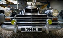 布拉格,捷克- 2017年5月:奔驰车770,1939-1952年,在全国技术博物馆在布拉格,捷克共和国 图库摄影