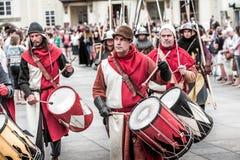 布拉格,捷克- 2016年9月04日:庆祝  免版税库存照片
