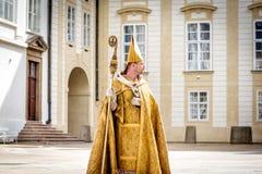布拉格,捷克- 2016年9月04日:庆祝  免版税图库摄影