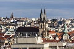 布拉格,捷克- 2015年9月05日:节拍器的照片在布拉格 免版税库存照片