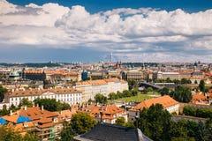 布拉格,捷克- 2016年7月04日 库存图片