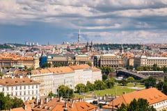 布拉格,捷克- 2016年7月04日 库存照片