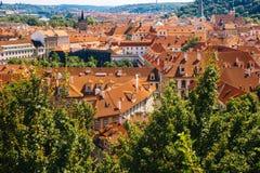 布拉格,捷克- 2016年7月04日 免版税图库摄影