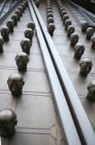 布拉格,捷克- 12月31,2014 :大门的元素 库存图片