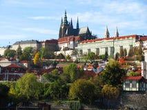 布拉格,欧洲的中心 免版税图库摄影