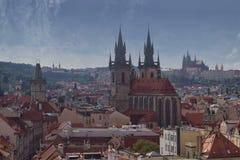 布拉格,美丽! 免版税图库摄影
