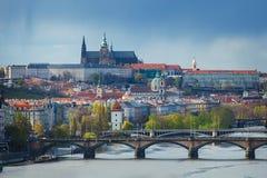 布拉格, Chech共和国都市风景  免版税图库摄影