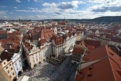 布拉格-全景 免版税库存照片