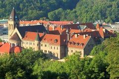 布拉格-圣徒基布里埃尔教会 图库摄影