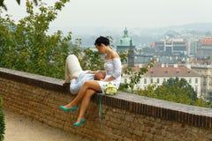 布拉格 城堡欧洲老照片布拉格河旅行vltava 库存照片
