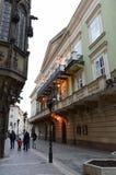 布拉格 城市的视图 免版税库存图片
