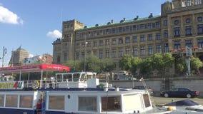 从布拉格-捷克小船的看法  股票录像