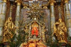 布拉格(捷克的婴儿耶稣:PraÅ ¾ ské Jezulà ¡ tko;) 免版税库存照片