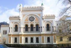 布拉格 西班牙犹太教堂 库存照片
