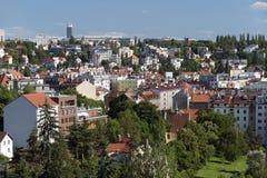 布拉格- Podoli季度 免版税库存照片