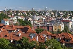 布拉格- Podoli季度 库存照片