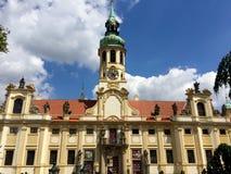 布拉格Loreta教会,捷克 免版税库存图片