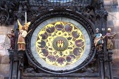布拉格Orloj 免版税库存照片