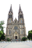 布拉格St Ludmila教会01 库存图片
