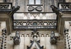 布拉格St Vitus Cathedrale 01 图库摄影