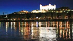 布拉索夫城堡斯洛伐克 影视素材