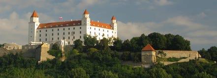 布拉索夫城堡斯洛伐克 库存照片